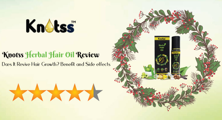 Knotss Herbal Hair Oil Review