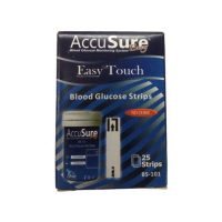 Accusure Easy Touch Blood Glucose Strips