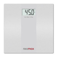 Rossmax Digital Personal Glass Weighing Scale (WB101)