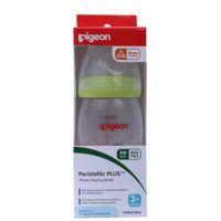 Pigeon Peristaltic PLus Nursing Bottle PP Green ( 3 +Months)