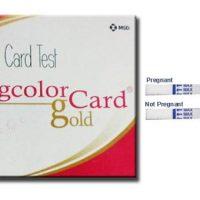 PREGCOLOR CARD GOLD