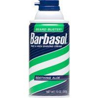 BARBASOL ALOE 10 OZ 1