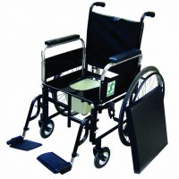 SAGE SELF PROPELLING WITH POT WHEELCHAIR E-25 C