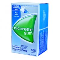 NICORETTE CHEWING GUM 2MG
