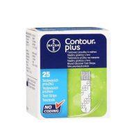 Bayer Countour Plus Blood Glucose Test Strips