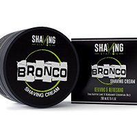 bronco shaving cream
