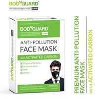 Bodyguard Anti Pollution Face Mask with Activated Carbon, N99 PM 2.5 for Men and Women