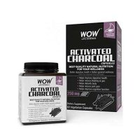 Wow Activated Charcoal Capsules
