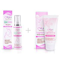 Vigini Stretch Marks Oil with Lightening Intimate Wash