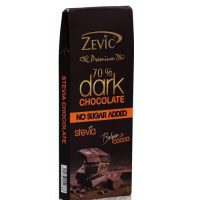 Zevic Dark Belgian Chocolate with Stevia