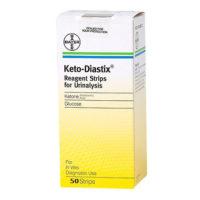 Bayer Diastix Reagent Strips for Urinalysis 50 Strips