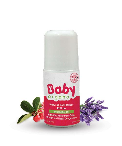BabyOrgano Natural Cold Relief Roll on
