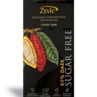 Zevic 85% Dark Belgian Couverture Chocolate