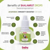BabyOrgano BaalAmrut Swarnaprashan Benefits