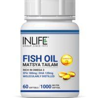 INLIFE fish oil Omega 3 Capsule